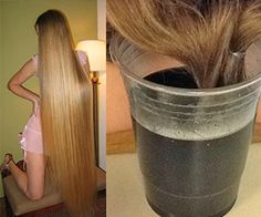 You'll Never Guess What She Uses to Add 'Volume & Length' to Her Hair… Grow Long Hair, Grow Hair, Hair Growth Tips, Hair Care Tips, Natural Hair Styles, Natural Hair Care, Long Hair Styles, Tips Belleza, Belleza Natural
