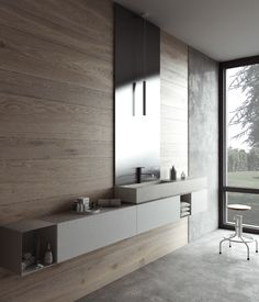 Bathroom Inspiration by Modulnova bagni Interior Exterior, Bathroom Interior Design, Minimalist Bathroom, Modern Bathroom, Luxury Restaurant, Bathroom Toilets, Bathrooms, Bathroom Styling, Bathroom Furniture
