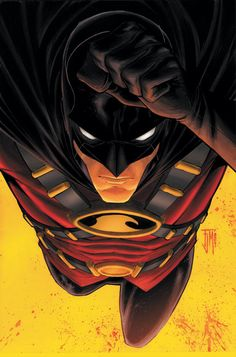 At the age of nine, Timothy Drake cleverly deduced the identities of Batman and Robin. Four years later, after the death of Jason Todd, Tim convinced Batman that he should be the new Robin. He would later become leader of Young Justice. Batman And Superman, Batman Robin, Marvel Dc Comics, Batman Arkham, Real Batman, Tim Drake Red Robin, Robin Dc, Nightwing, Batgirl