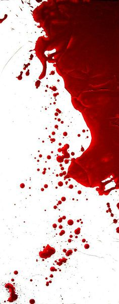 Blood Splatter  Painting  - Blood Splatter  Fine Art Print