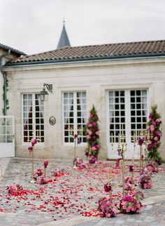 cremony Chateau Papa Clement in Bordeaux  by Peter and Veronika