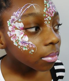 flower facepainting - Google Search