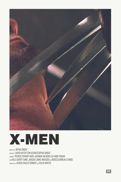 X-Men alternative movie poster