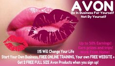 Sign Up To Sell Avon Today!! Sign up to Sell Avon online Today @ www.StartAvon.com reference code: gallegos-mcclos Join our national team today for $15 @ www.Sellfor15.com and watch your dreams com...