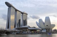 The Marina Bay Sands Hotel. Image by Daniel Robinson / Lonely Planet. #Singapore