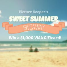 "Help me win the Picture Keeper's Sweet Summer Giveaway!   https://wn.nr/CSMQNd <Enter Here To Win To Win $1,000 Visa Card from ""Picture Keepers"" also Download Their App. for Free !!!"