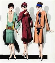 the 1920s-1920s Paris fashion by april-mo, via Flickr