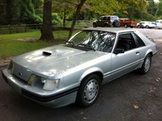 RARE 1984 Mustang SVO Actually got a speeding ticket this on the Autobahn.....FUN TO DRIVE !!