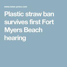 Plastic straw ban su