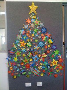 Kerstboom van sterren!