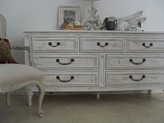 washed chest of drawers