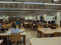 Biblioteca CEE Universidad Complutense. Sala de lectura