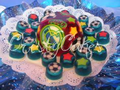 gelatina fútbol