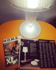 Liza the first table lamp provided with two #LED light sources designed by Elisa Giovannoni for #Slamp, is the #star of the exclusive January issue of H.O.M.E #magazine! Discover more: www.slamp.com