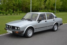 Alfa Romeo Alfetta Quadrifoglio Oro (1982)