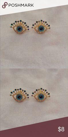 ❤️Egyptian Eye Earrings❤️ New in packaging. Jewelry Earrings
