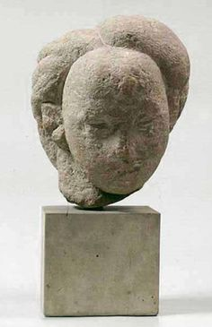 Constantin Brâncuși (Romania, 1876-1957), Danaida, stone, 1908. Collection National Museum of Art of Romania, Bucharest.
