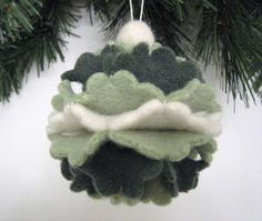 Felted Ornament