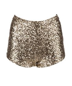 Gold (Gold) Parisian Gold Sequin Hotpants | 269694693 | New Look