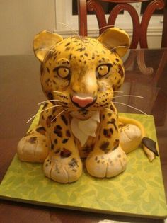 Jaguar Cub cake