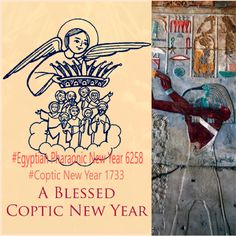 #Today 11 September it is 1st day of the first month of Tout of the new year of 1733 #Coptic #Christian #Martyrs, #Nayrouz and of the new year of 6258 #Egyptian #Pharaonic year