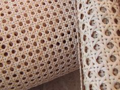 Cane weave close up - Woven furniture comes in many types, do you know what's what?