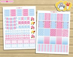 May Monthly kit - Printable Planner Stickers - Planner and organizer for Erin condren boxes - Functional print and cut stickers  ❤❤❤ Instant