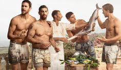 Dolce&Gabbana Spring Summer 2014 Campaign AD Men Collection Photos Noah Mills Tony Ward - Swide