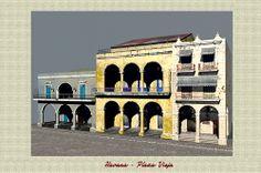 Havana Plaza Vieja Havana, Cuba, Explore, Mansions, House Styles, Manor Houses, Villas, Mansion, Palaces