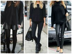 Piezas negras que toda chica debe tener... Total Black, Look Younger, What I Wore, Lifestyle, My Style, Casual, Blog, How To Wear, Outfits