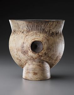"""** HANS COPER Early and large """"Thistle"""" form, circa 1958"""