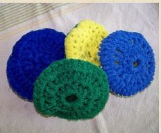 Simply HomeMade: Scrubby Tutorial/Pattern (direct link to free pattern)