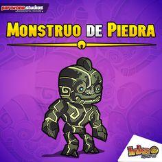 Monstruo de Piedra. #Stone #monster #monstruo #piedra #inkamadness #games