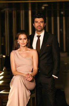 Fahriye Evcen and Engin Akyürek
