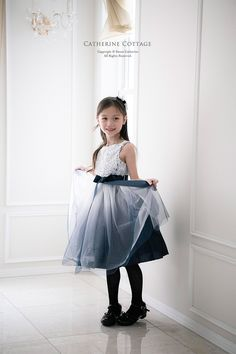 b40556933ffa7 子供ドレスのキャサリンコテージ《本店》ワンピース・スーツ・フォーマル靴   巻き薔薇のグラデーションドレス   120 130 140 150 青  ピンク ブラック ネイビー 紫   ...