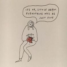 Motivacional Quotes, Mood Quotes, Positive Quotes, Qoutes, Wal Art, New Yorker Cartoons, Dibujos Cute, Pretty Words, Illustration Art