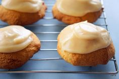 Brown Sugar Biscuits w Browned Butter Icing