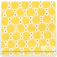 Happy Tones - Jemma Yellow Yardage - Michael Miller Fabrics - Michael Miller