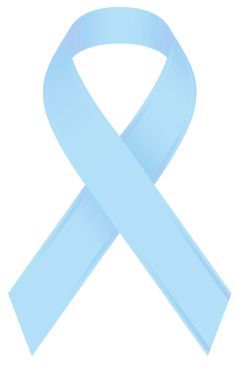 Light Blue Awareness ribbon ~ For survivors of violent physical or sexual child abuse.