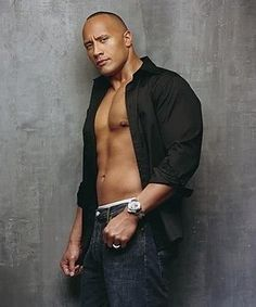 The Rock-Dwayne Johnson my brother from another mother.