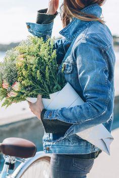 Madewell jean jacket - Jess Kirby