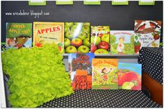Erica's Ed-Ventures: Apples! Apple themed read alouds