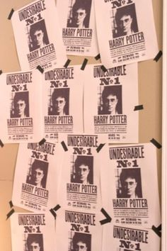 Harry Potter Party ideas and how to make a quill pen, wanted posters, educational decrees (good printables)