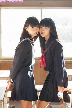 School Girl Japan, School Girl Dress, Japan Girl, Cute School Uniforms, School Uniform Girls, Girls Uniforms, Cute Asian Girls, Beautiful Asian Girls, Cute Girls