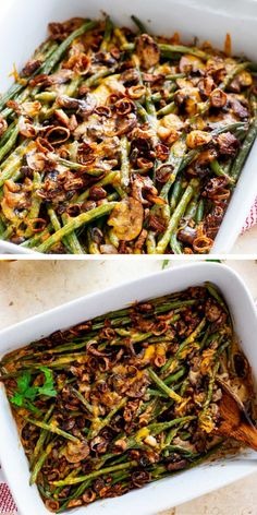 Best Ever Low Carb Green Bean Casserole Level up your holiday table with this delicious Keto Green Bean Casserole. I think you will agree – this easy low carb twist on a classic really is best when it is made from fresh ingredients. Low Carb Side Dishes, Side Dish Recipes, Lunch Recipes, Low Carb Recipes, Dinner Recipes, Low Carb Lunch, Low Carb Diet, Green Bean Casserole, Keto Dinner