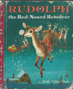 Rudolph the RedNosed Reindeer A Little by thecollectiblechest, $2.99
