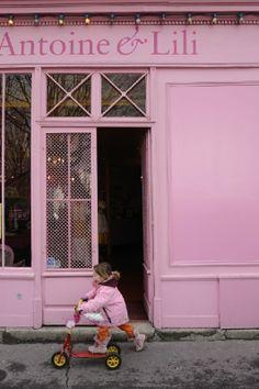 Antoine et Lili - Women and children's clothing store - Paris ..twinshine.blogspot.com