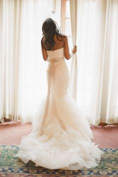 Wedding Dress: Vera Wang