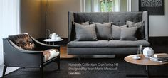 Buy online Grantorino hb By poltrona frau, high-back sofa design Jean-Marie Massaud, the collection - sofa and armchairs Collection Loveseat Sofa, Sectional Sofa, Sofas, Settee, Armchairs, Luxury Furniture, Modern Furniture, Divani Design, High Back Chairs
