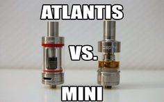 Kanger Subtank Mini vs the Aspire Atlantis